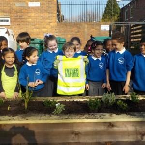 Loughborough School Planting Party
