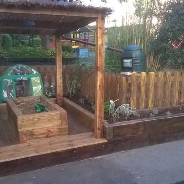 Father Nature transforms Richard Atkins School, Brixton
