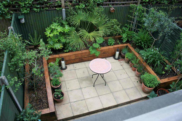 Small garden design
