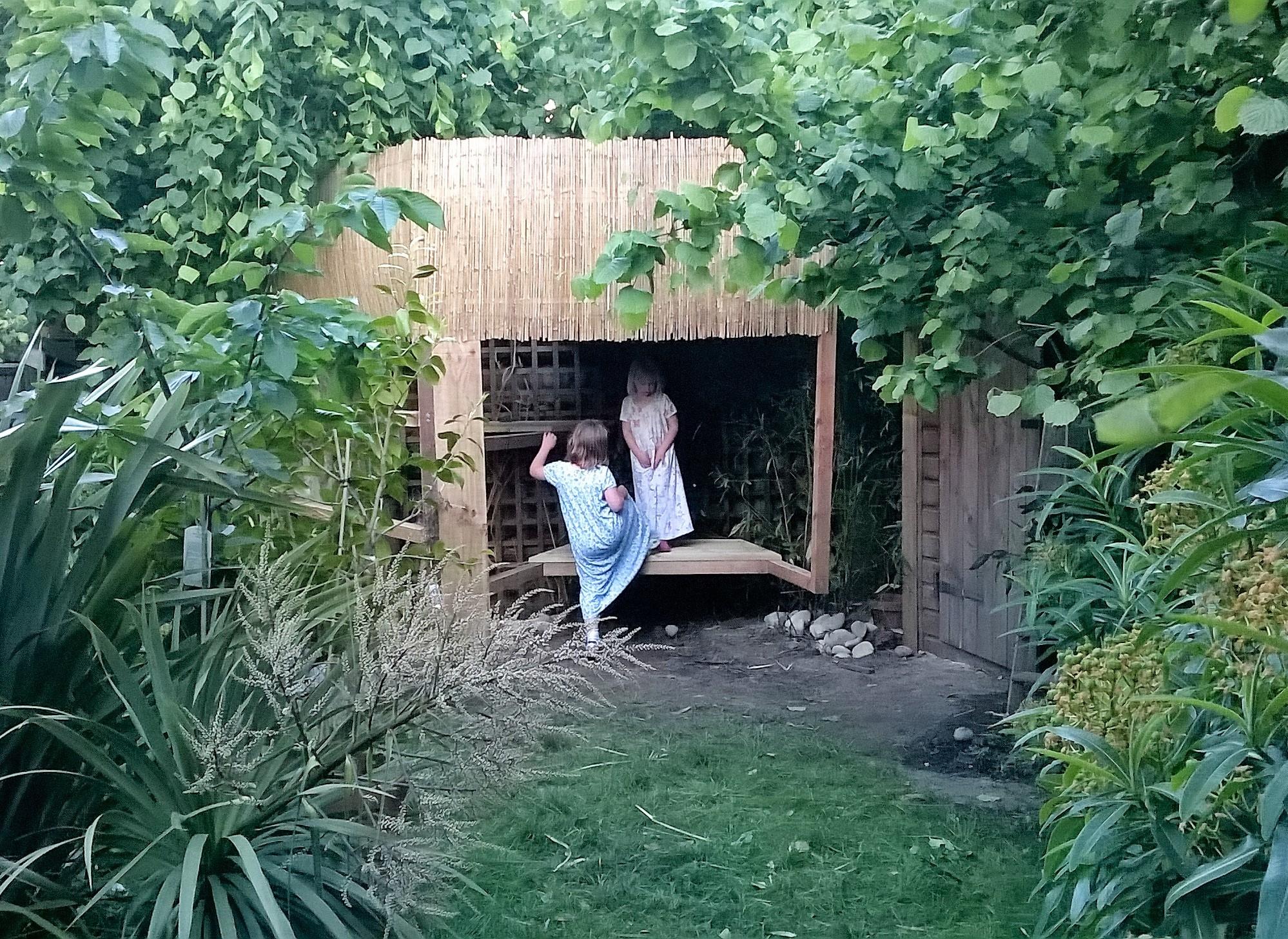 Treehouse garden design